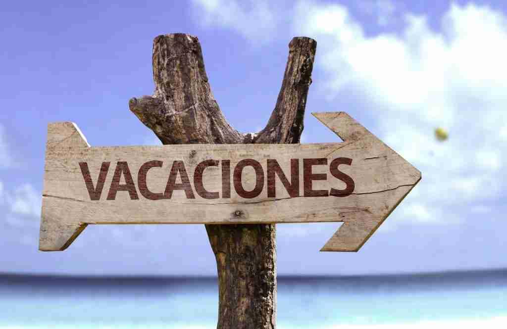vacaciones se pierden
