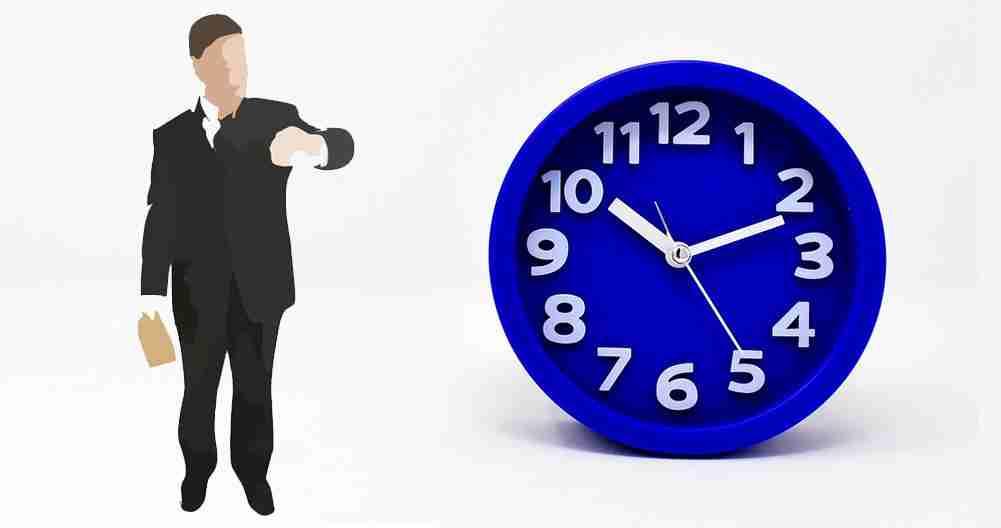 Cuántos minutos se puede llegar tarde al trabajo